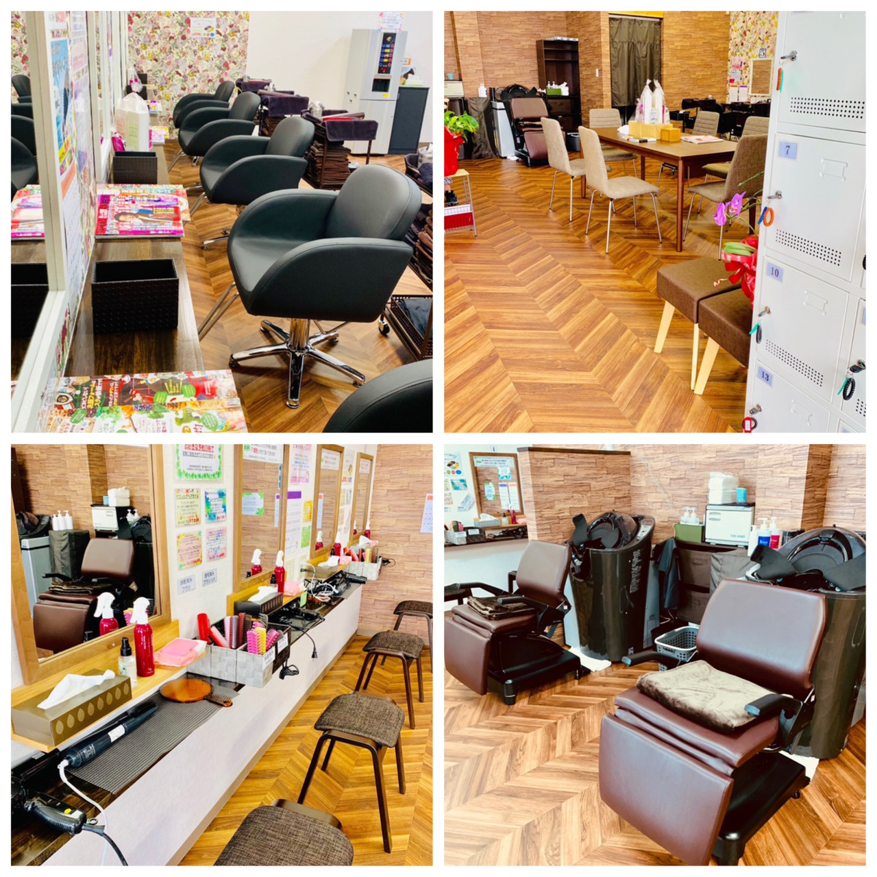 地元の美容学校での特別授業